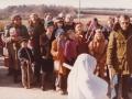 1. Fastelavnsfejring i Vind. Begyndelsen af 1980'erne.