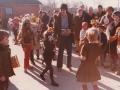 9. Fastelavnsfejring i Vind. Begyndelsen af 1980'erne.