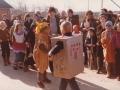 3. Fastelavnsfejring i Vind. Begyndelsen af 1980'erne.