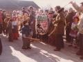 4. Fastelavnsfejring i Vind. Begyndelsen af 1980'erne.