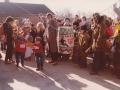 6. Fastelavnsfejring i Vind. Begyndelsen af 1980'erne.