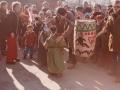 8. Fastelavnsfejring i Vind. Begyndelsen af 1980'erne.