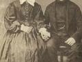 Gårdmand i Nygård, Peder Christian Andersen (1833-1906) og hustru Johanne Kirstine Andersen (f. Lauritsen, 1844-1925). Årstal ukendt.