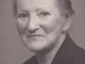 Karen Røjkjær Christensen (f. Nielsen, 1879-1954), enke efter Christen 'Bundgaard' Madsen Christensen (1867-1940). årstal ukendt.