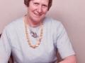 Eleonora Kristine Gammelvind (f. Troldtoft, 1914-1999). Årstal ukendt.