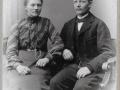 Gårdmand i Gammelvind, Jens Gammelvind (1876-1966) og hustru Mariane Gammelvind (f. Thomsen, 1876-1952), antageligvis fotograferet i tiden omkring deres bryllup i 1907.