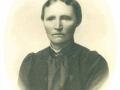 Ane Marie Jensen (f. Madsen, 1859-1938), gift med husmand i Bladbjerg, Niels Blæsbjerg Jensen (1858-1932). Årstal ukendt.