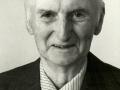 Gårdmand i Vesterbo, Kjeld A. J. Kirkegaard (1903-1983), tillige sognefoged, menighedsrådsmedlem og hjemmeværnsmand, fotograferet i forbindelse med sin 75 års-fødselsdag i 1978.