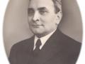 Gårdmand i Meldgård, Poul Christian Spaabæk Poulsen (1892-1988). Årstal ukendt.