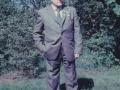 Husmand i Blåbjerghus, Peder Svendsen (1908-1994). Årstal ukendt.