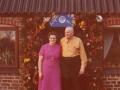 Gårdmand i Troldtoftgård, Niels Valdemar Troldtoft (1906-1980) og hustru Erna Troldtoft (f. Brogaard, 1913-2009) fotograferet på deres sølvbryllupsdag i 1976.