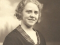 Helga Alvilde Troldtoft (g. Jensen, 1911-1997). Årstal ukendt.