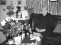 Maren Margrethe Troldtoft (f. Jacobsen, 1877-1973) fotograferet på sin 85 års-fødselsdag i 1962.