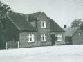 Kirkebyens købmandsforretning, som oprindeligt blev drevet af Jens Chr. Jensen (1867-1938) og efterfølgende af hans datter, Anna Jensen (1913-1997).