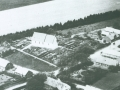 Vind Kirkeby fotograferet fra oven omkring 1938.