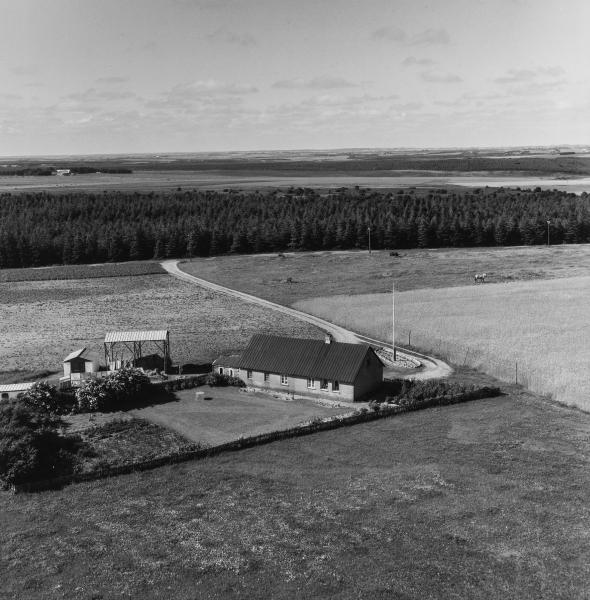 42. Vind, 1962. Præstevejen, 'Vildkildehus' (nu nedrevet).