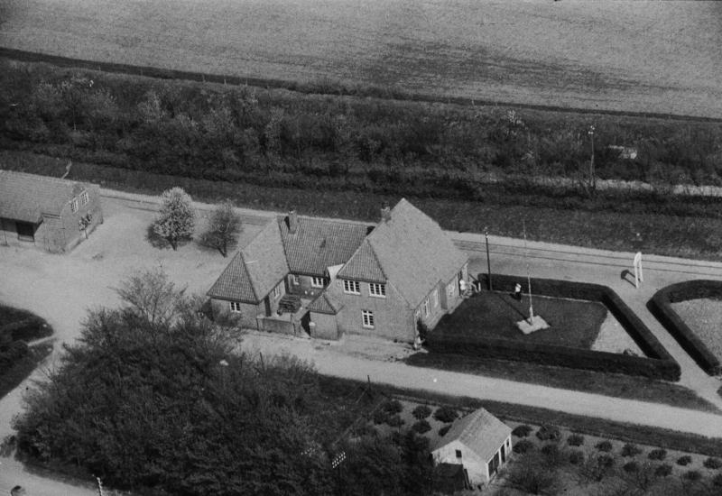 3. Vind Stationsby, 1949. Stationen.