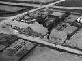 4. Vind Stationsby, 1949. Ørnhøjvej 1 (t.v.) og 3 (t.h.). På tværs i baggrunden ses jernbanen.