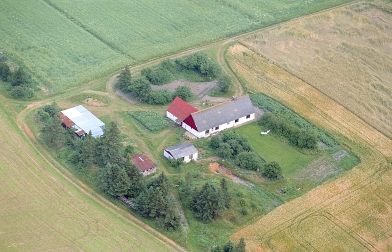 43. Vind, 1991. Skjernvej 224, 'Damtofthus'.