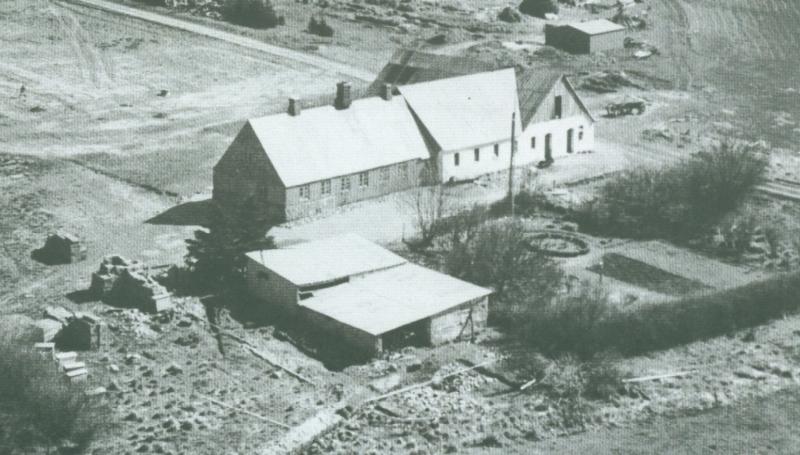 Blaabjerghus omkring 1950 -i dag Råstedvej 13.