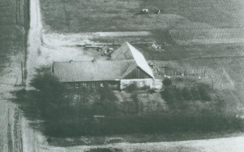 Boutrup omkring 1947 -i dag Skjernvej 214.