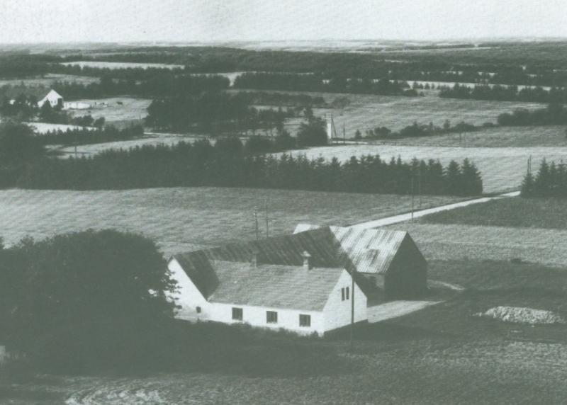 Fromborg omkring 1947 -i dag Hestbjergvej 4.