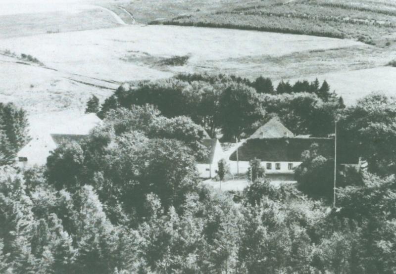 Frydendal omkring 1961 -i dag Ørnhøjvej 15.