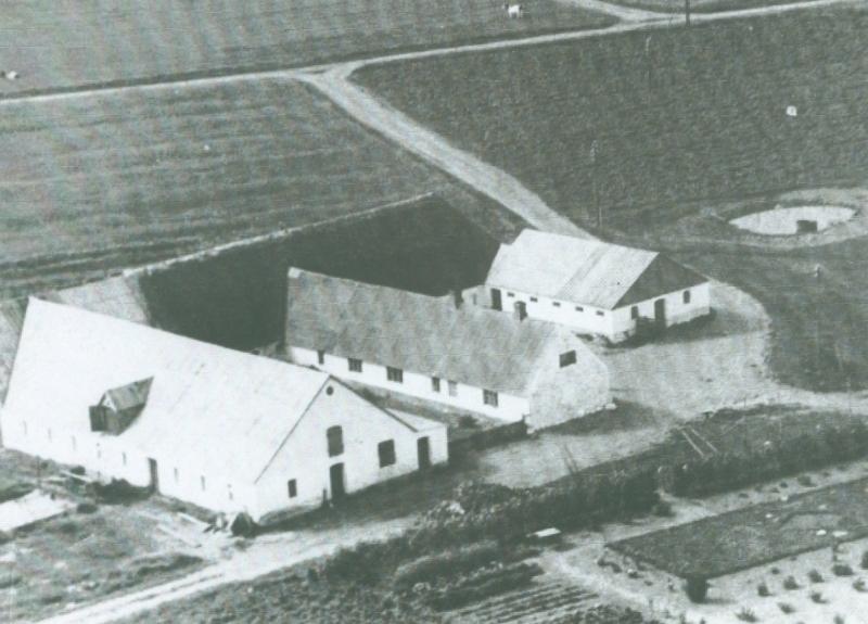Gammel Skold omkring 1947 -i dag Trækrisvej 4.