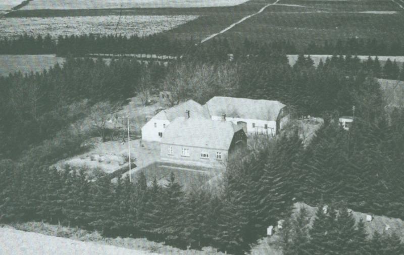 Kjærgaard omkring 1945 -i dag Blåkjærvej 9.