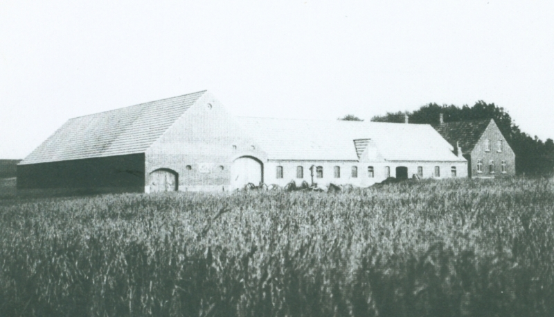 Moesgaard omkring 1940 -i dag Ørnhøjvej 16.