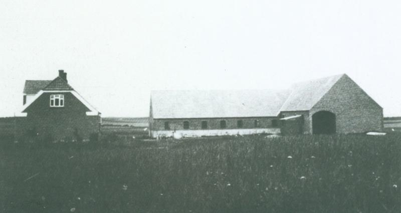Nyholm omkring 1940 -i dag Ørnhøjvej 18.