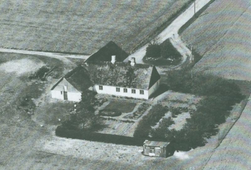 Vester Røjkjær omkring 1947 -nedrevet.