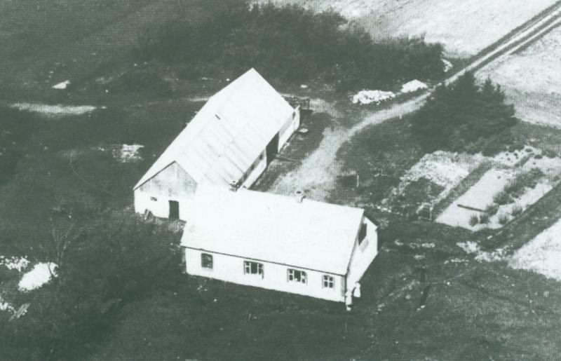 Vestervang omkring 1948 -i dag Sandfærvej 5.