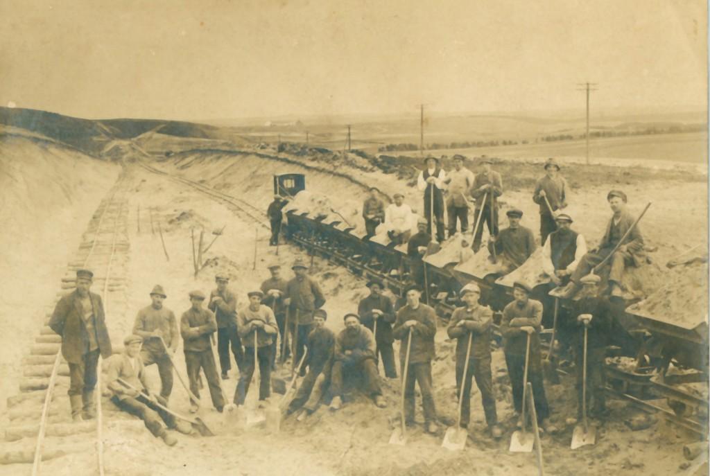 Fra anlæggelsen af Ørnhøj-Holstebro-banen i midten af 1920'erne