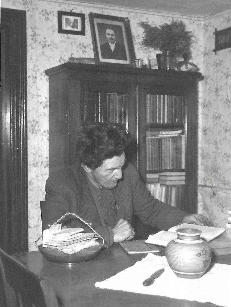 Skomager i Vind Kirkeby, Jens Ingemann Kjær Christiansen (1907-1985).