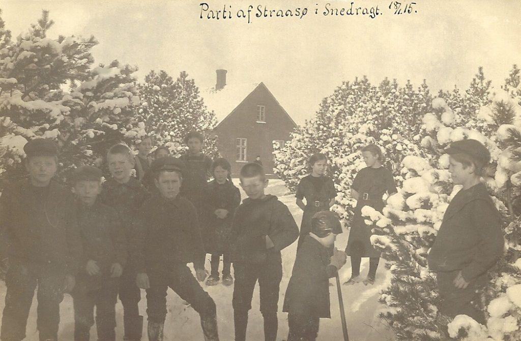 Stråsø, vinteren 1915.
