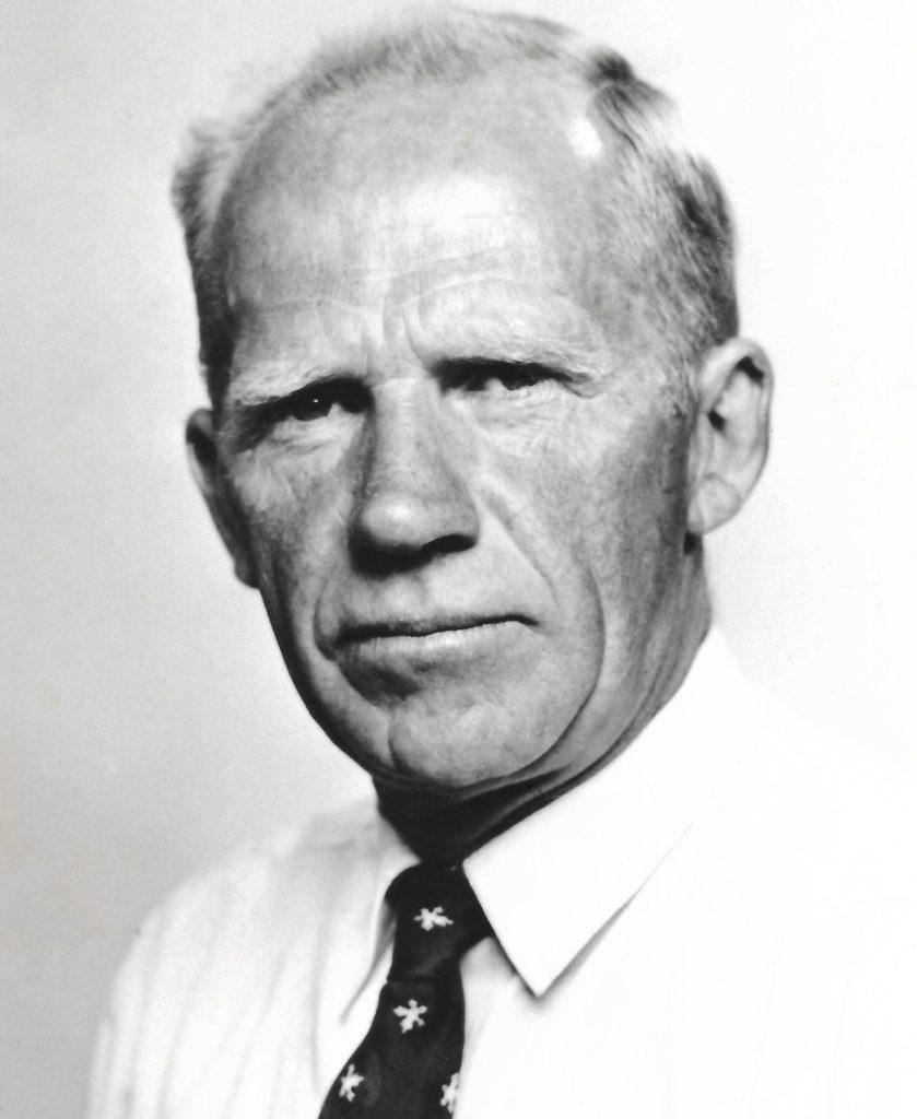 Poul Gammelvind (1911-1987) fotograferet mange år efter krigens afslutning. Årstal ukendt.