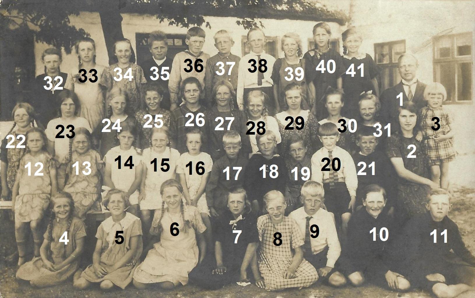 Vind Skole, angiveligt 1926.