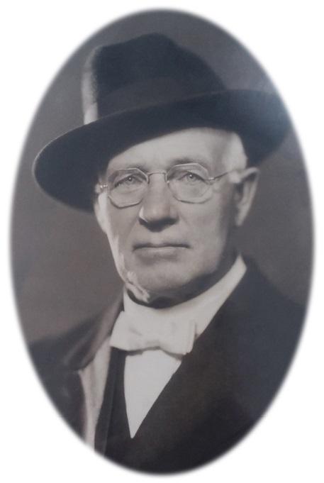 Pastor Peter Blicher (1876-1958), født i Vind og mangeårig præst i Amerika.