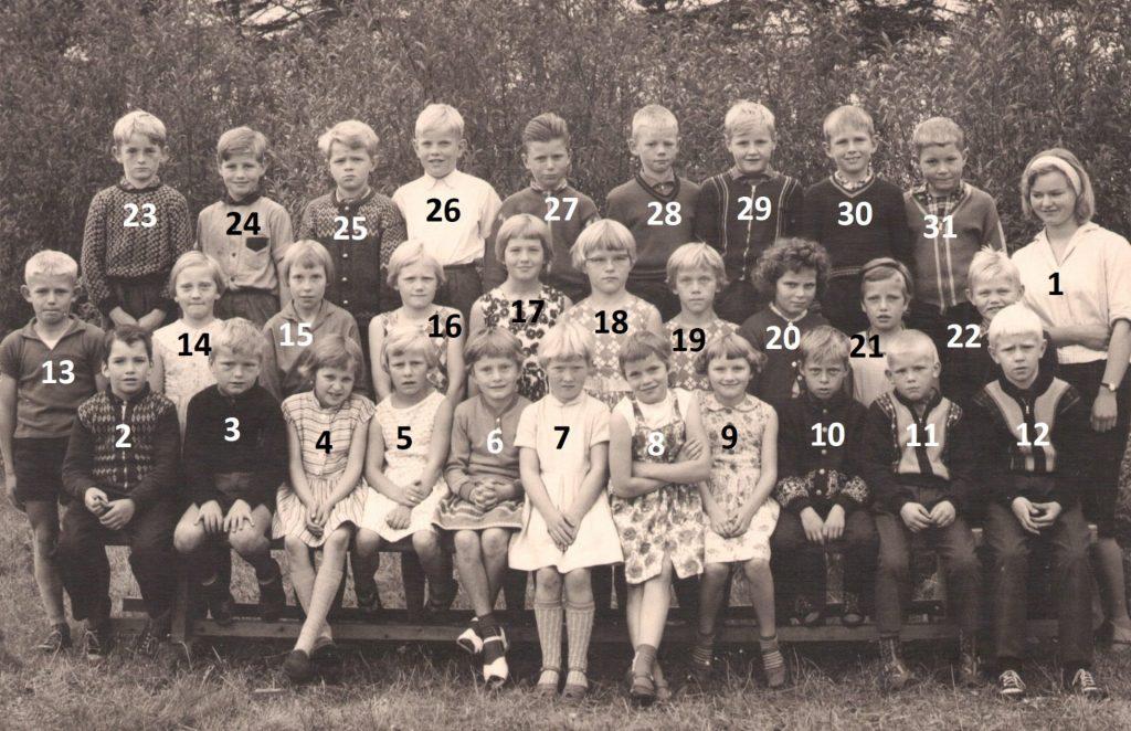 Vind Skole, begyndelsen af 1960'erne.