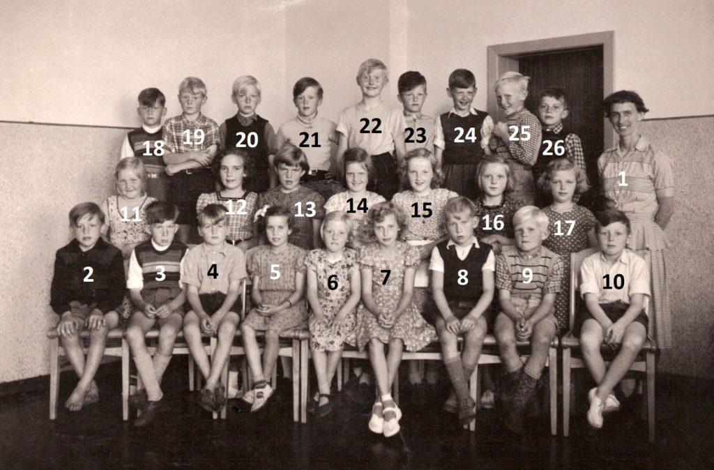 Vind Skole, 1953 eller kort tid derefter.