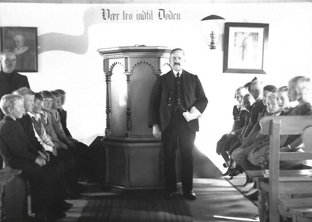 Børnegudstjeneste, 1938.