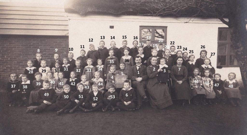 Vind Skole, efteråret 1921.