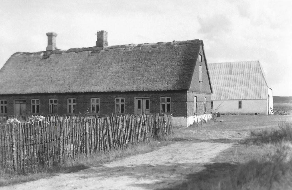 Fuglsang set fra vest, fotograferet i 1938.